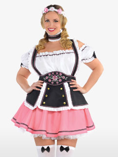 Oktobermiss - Déguisement Adulte Grande Taille Fancy Dress