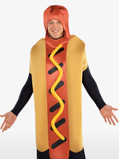 Transformation Hot Dog - Déguisement Adulte  Fancy Dress