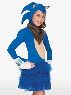 Sonic Boom Fille - Déguisement Enfant  Fancy Dress