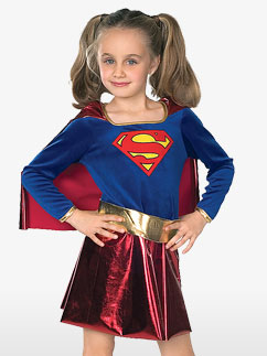 Supergirl - Costume enfant Fancy Dress