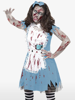 Jeune Fille Zombie - Déguisement Ado  Fancy Dress