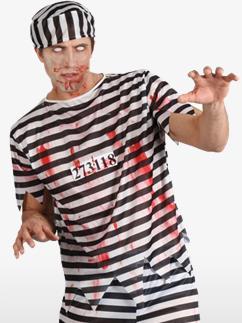 Prisonnier Zombie - Déguisement Adulte Fancy Dress