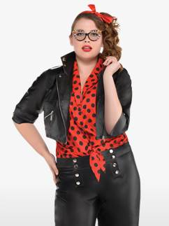 Pin Up Rebelle - Déguisement Adulte Grande Taille