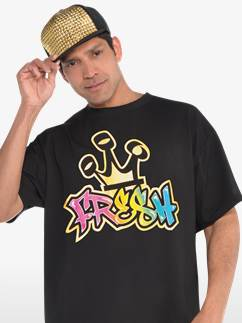 Tee-Shirt Hip Hop Années 90 - Déguisement Adulte Fancy Dress