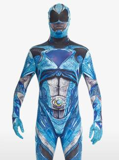 Combinaison Morphsuit (Seconde Peau) Power Rangers Bleu