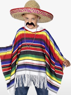 Poncho - Costume enfant Fancy Dress