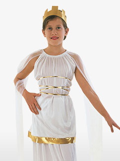 Déesse Athena - Costume Enfant Fancy Dress