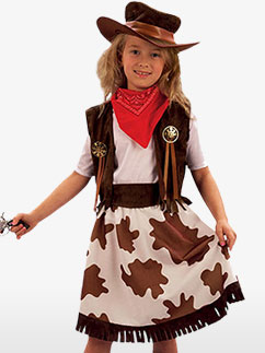 Cow-girl - Costume Enfant