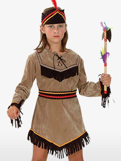 Indienne - Costume enfant