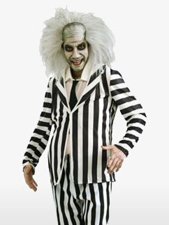 Beetlejuice - Déguisement Adulte Fancy Dress