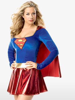 Supergirl - Costume adulte Fancy Dress
