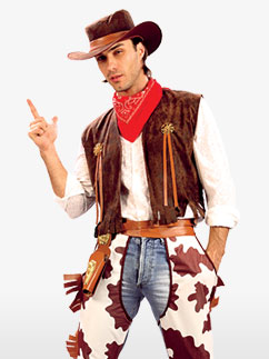 Cowboy - Taille standard Fancy Dress
