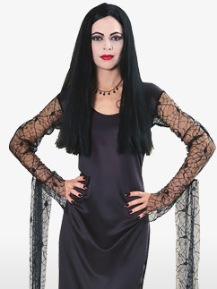 Morticia de la Famille Addams - Déguisement Adulte Fancy Dress