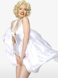 Marilyn Monroe - Déguisement Adulte Fancy Dress