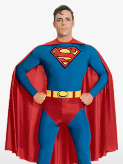 Superman - Déguisement Adulte Fancy Dress