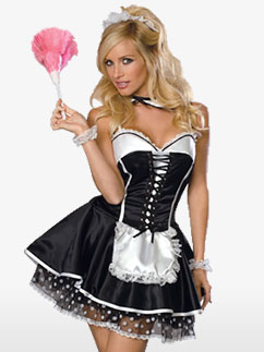 Soubrette Sexy - Costume Adulte Fancy Dress