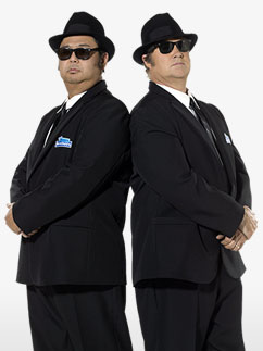 Blues Brother - Déguisement Adulte  Fancy Dress