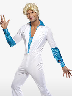 Homme Disco - Déguisement Adulte Fancy Dress