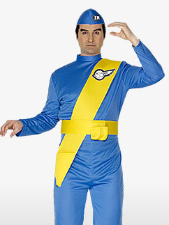 Virgil de Thunderbirds - Déguisement Adulte  Fancy Dress