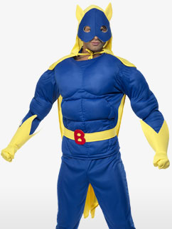 Bananaman - Déguisement Adulte  Fancy Dress