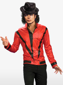 Veste Thriller Michael Jackson - Déguisement Adulte  Fancy Dress