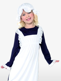 Fille Pauvre de l'Époque Victorienne - Costume Enfant Fancy Dress
