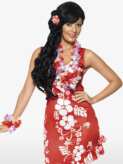 Beauté Hawaïenne - Déguisement Adulte Fancy Dress