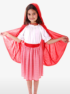 Petit Chaperon Rouge - Déguisement Enfant Fancy Dress