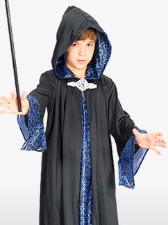 Robe de Sorcier - Déguisement Enfant Fancy Dress