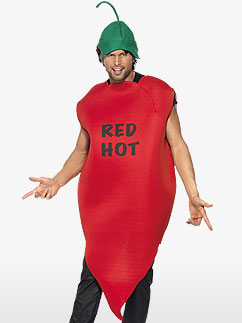 Chilli Pepper -  Costume adulte Fancy Dress