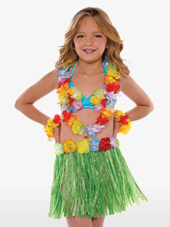 Fille Luau - Déguisement Enfant Fancy Dress