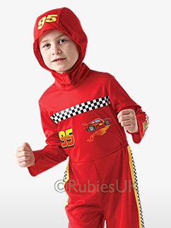 Flash McQueen de Cars 2 - Costume Enfant Fancy Dress
