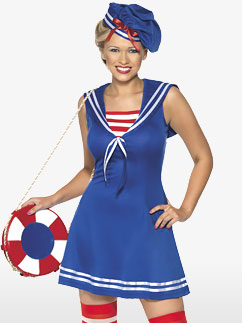 Joli petit marin - Costume adulte Fancy Dress