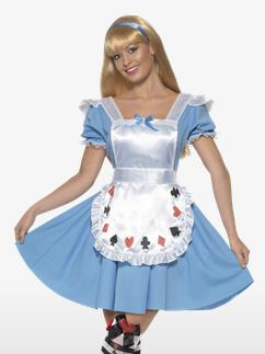 Fille au Jeu de Cartes - Déguisement Adulte Fancy Dress
