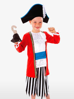 Capitaine Pirate - Déguisement Enfant Fancy Dress