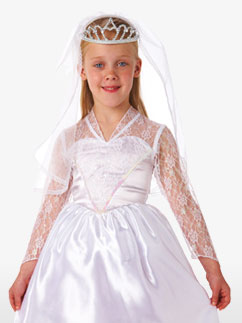 Belle mariée - Costume enfant Fancy Dress