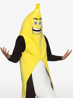 Banane en folie - Costume adulte Fancy Dress