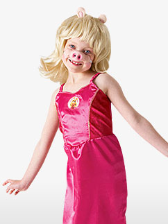 Miss Piggy du Muppet Show - Déguisement Enfant Fancy Dress