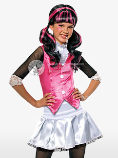 Draculaura de Monster High - Déguisement Enfant  Fancy Dress