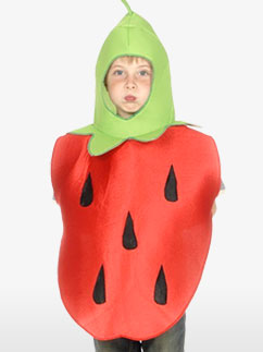 Miss Fraise - Costume enfant Fancy Dress