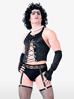 Frank-N-Furter du Rocky Horror Show - Déguisement Adulte Fancy Dress