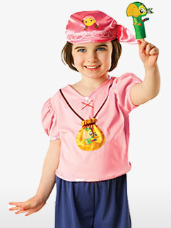 Izzy la Pirate - Costume Enfant