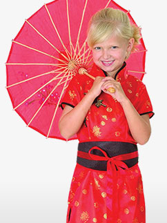 Robe Chinoise - Déguisement Enfant Fancy Dress