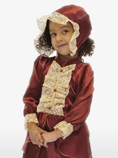 Fille Noble Victorienne - Costume Enfant Fancy Dress