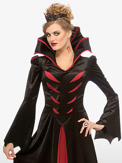 Reine des Vampires - Déguisement Adulte Fancy Dress