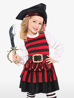 Costume Petite Pirate - Enfant Fancy Dress