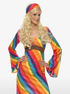 Hippie Arc-en-Ciel - Déguisement Adulte Fancy Dress
