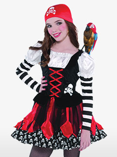 Costume Miss Pirate - Enfant Fancy Dress