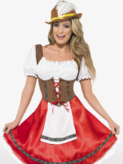 Jeune Femme Bavaroise - Déguisement Adulte  Fancy Dress