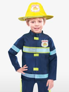 Pompier - Costume Enfant Fancy Dress